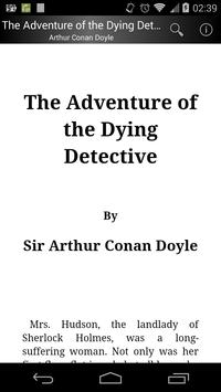 The Adventure of the Dying Detective poster