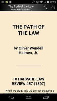 The Path of the Law poster