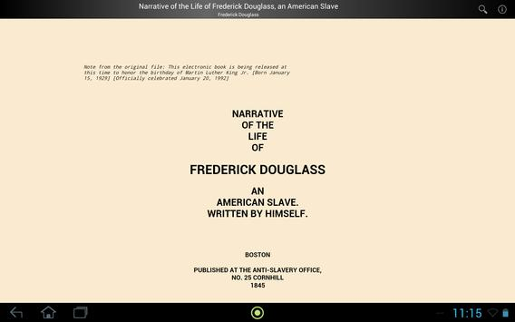 Life of Frederick Douglass screenshot 2