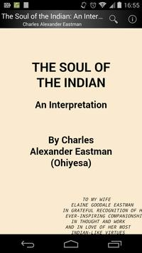 The Soul of the Indian poster