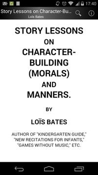Character-Building and Manners poster