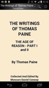 The Writings of Thomas Paine 4 poster