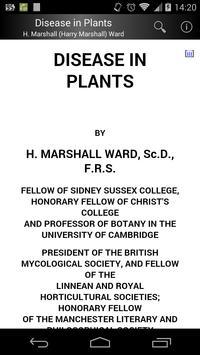 Disease in Plants poster