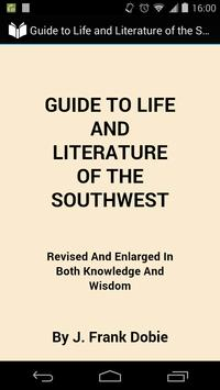 Southwest Life and Literature poster