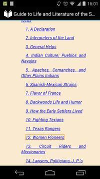 Southwest Life and Literature apk screenshot