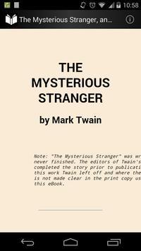 The Mysterious Stranger poster