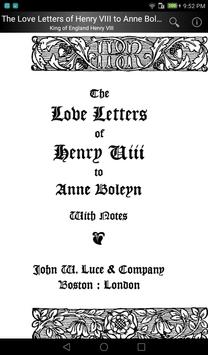 The Love Letters of Henry VIII apk screenshot