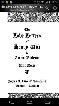 The Love Letters of Henry VIII poster