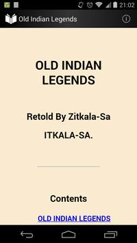Old Indian Legends poster