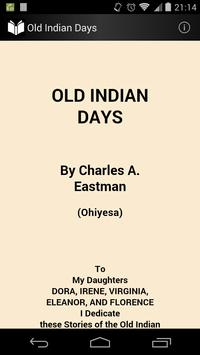 Old Indian Days poster