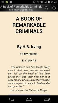 A Book of Remarkable Criminals poster