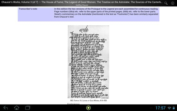 Chaucer's Works, Volume 3 screenshot 2