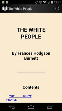 The White People poster