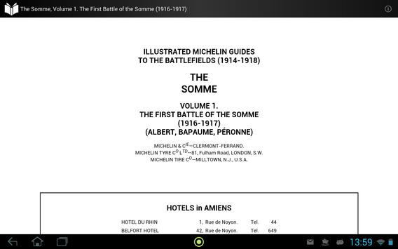 The Somme, Volume 1 apk screenshot