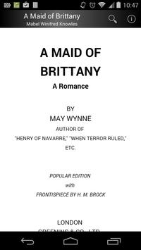 A Maid of Brittany poster
