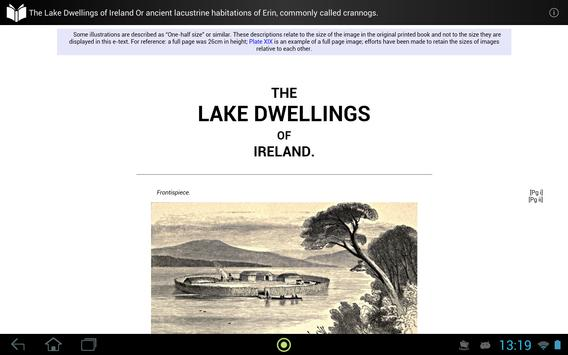 The Lake Dwellings of Ireland apk screenshot