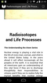 Radioisotope and Life Process screenshot 1