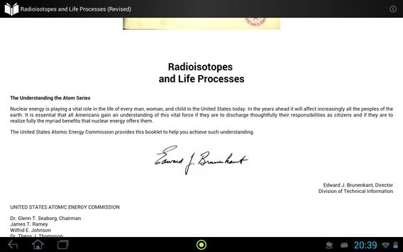 Radioisotope and Life Process screenshot 3