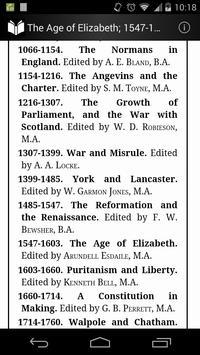 The Age of Elizabeth 1547-1603 apk screenshot