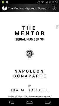 The Mentor: Napoleon Bonaparte poster