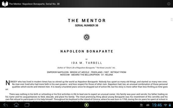 The Mentor: Napoleon Bonaparte apk screenshot