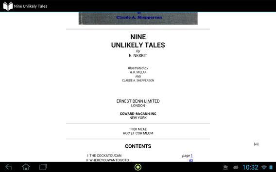 Nine Unlikely Tales apk screenshot