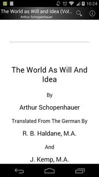 The World as Will and Idea 2 poster