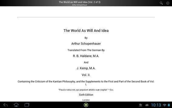 The World as Will and Idea 2 screenshot 2