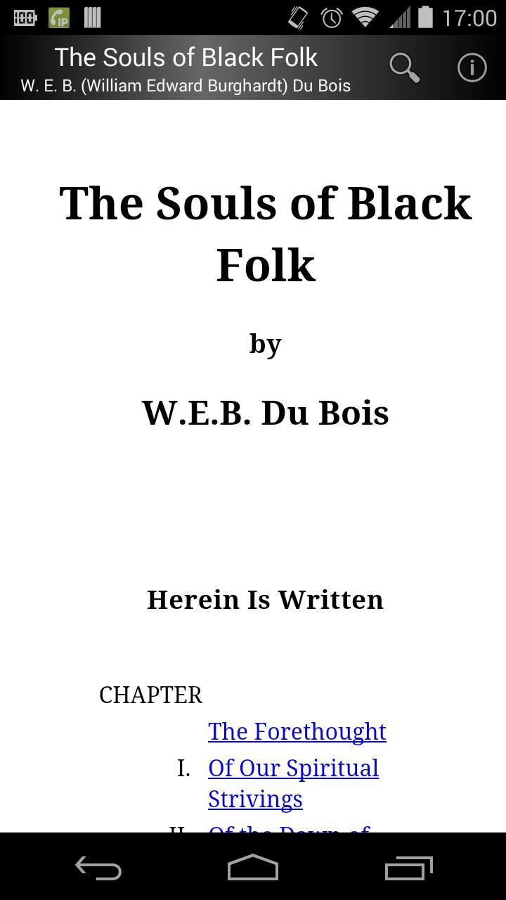 The Souls of Black Folk poster