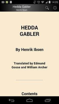 Hedda Gabler poster