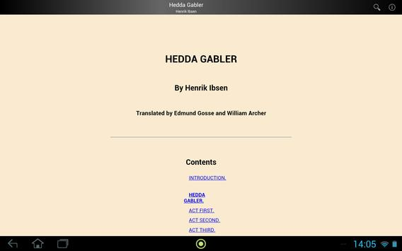Hedda Gabler screenshot 2
