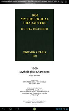 1000 Mythological Characters apk screenshot