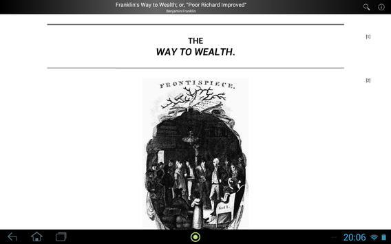 Franklin's Way to Wealth screenshot 2