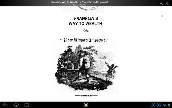 Franklin's Way to Wealth screenshot 3