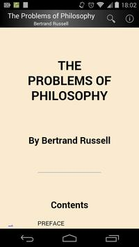 The Problems of Philosophy poster
