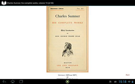 Charles Sumner volume 15 screenshot 3