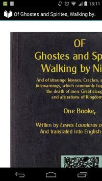 Walking of Ghosts and Spirits poster