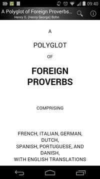 A Polyglot of Foreign Proverbs poster