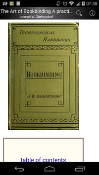 The Art of Bookbinding poster