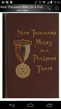 9000 Miles On A Pullman Train poster