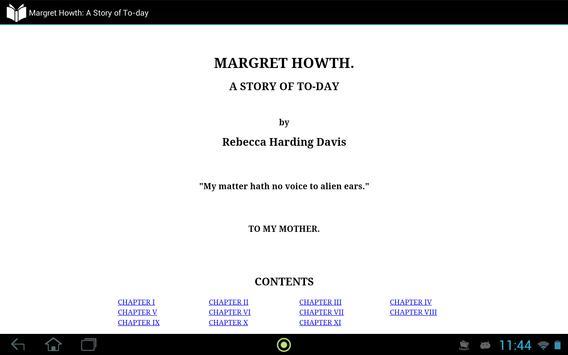 Margret Howth apk screenshot