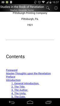 Studies in Book of Revelation screenshot 1