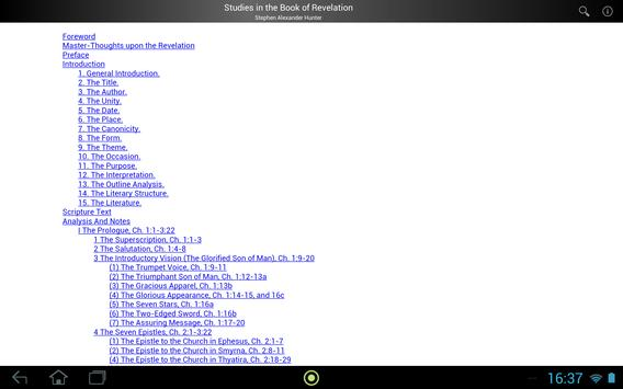 Studies in Book of Revelation screenshot 3