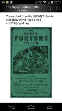 The Gipsy Fortune Teller poster