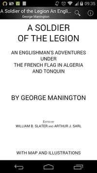 A Soldier of the Legion poster
