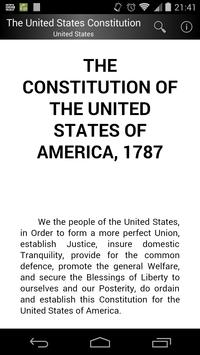 The United States Constitution poster