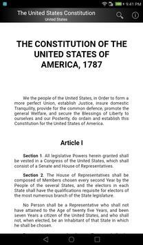 The United States Constitution apk screenshot