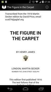 The Figure in the Carpet poster
