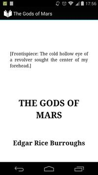 The Gods of Mars poster
