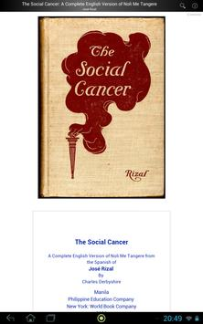 The Social Cancer apk screenshot